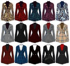 심즈4 제작 l 여심코트 [FB_High Neck Jacket] : 네이버 블로그 Sims 4 Cas, Sims Cc, Sims 4 Piercings, Sims 4 Toddler Clothes, Pelo Sims, Sims 4 Game Mods, Sims4 Clothes, Sims 4 Dresses, Sims Four