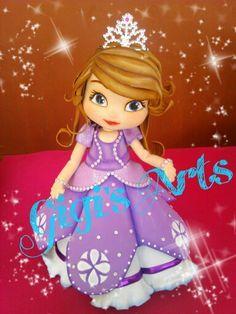 Fofucha princesa Sofia