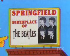 The Beatles - Simpsons