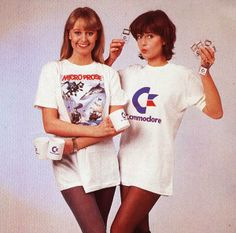 80's Commodore Girls