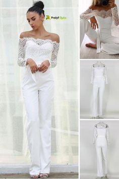 4536f051ecda 38 Best Formal jumpsuit images | Ladies fashion, Woman fashion ...