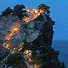 Skopelos island Greece