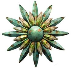 Regal Art & Gift 10200 Sunburst Sun Wall Decor, Aqua  Decorating your backyard or garden is easy, fun, and cute when you use metal outdoor wall art.  You can incorporate sun, gecko, moon , flower and all kinds of other metal wall decor that is perfect for your garden outdoor space.  This metal wall art is the epitome of style and an great start when it comes to outdoor decorating ideas.