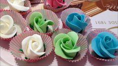 Como hacer una rosa con fondant