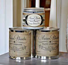 Maison Blanche Paints