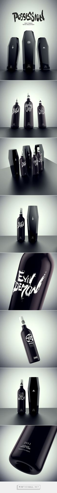 Possession - The Unholy Wine Collection on Behance