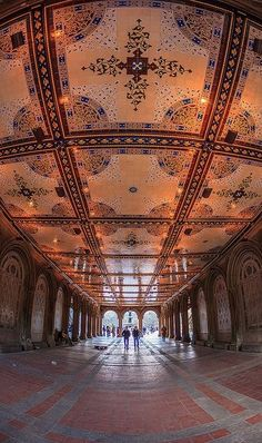 Passage, Central Park, NYC