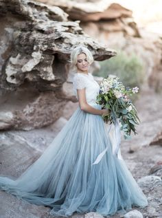 25 Two-Piece Wedding Dresses For Brides Who Dare To Be Different