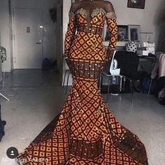The most trendy and beautiful ankara styles and designs outfit for couples compilation. These ankara designs for couples were particularly selected for you and your partner. African Prom Dresses, African Wedding Dress, African Fashion Dresses, African Outfits, Ghanaian Fashion, African Weddings, African Clothes, African American Fashion, African Print Fashion