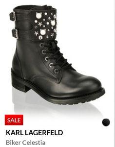 Erhältlich im  online shop von humanic.net/de mit 9% Cashback für KGS Partner Im Online, Partner, Karl Lagerfeld, Combat Boots, Biker, Shopping, Shoes, Fashion, Zapatos
