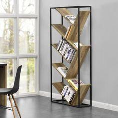 The Art of Mobiliário industrial Palette Furniture, Furniture Logo, Metal Furniture, Cheap Furniture, Online Furniture, Rustic Furniture, Home Furniture, Furniture Design, Large Bookshelves