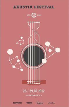 Akustik Festival Poster