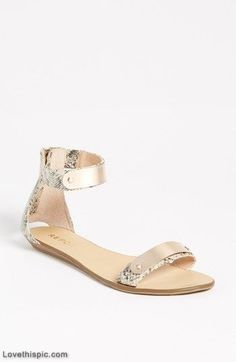 Metal bar sandal fashion cute shoes pretty sandals shoes pictures fashion pictures