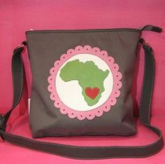 leather handbag - proudly south african... African Crafts, African Accessories, Africa Fashion, Protective Hairstyles, Gymnastics, South Africa, Leather Handbags, Art For Kids, Art Ideas