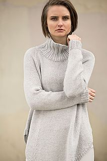 Mix No 31 - a tunic-length sweater knit in DK weight wool-very chic!