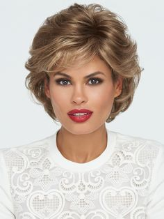 Tango by Raquel Welch is a short, sophisticated shag with bangs. This textured, wavy style features all over layers, soft body and curls. You'll love its versatility with easy and varied styling…More Click visit link to see more - Wigs buying tricks Medium Hair Cuts, Short Hair Cuts, Medium Hair Styles, Curly Hair Styles, Natural Hair Styles, Stacked Bob Hairstyles, Short Bob Haircuts, Curly Bob Hairstyles, Blonde Bob Haircut