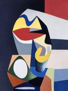 Jean Hélion - Rouge Brilliant, 1938, Paintings:...