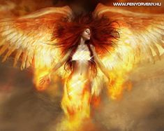 fantasy woman, naked woman, wings, naked breasts, Phoenix - Cartoons/Anime and Fantasy - Pictures and wallpapers Phoenix Wallpaper, Angel Wallpaper, Wallpaper Backgrounds, Phoenix Artwork, Phoenix Images, Iphone Wallpapers, Desktop, Fantasy Art Angels, Fantasy Images