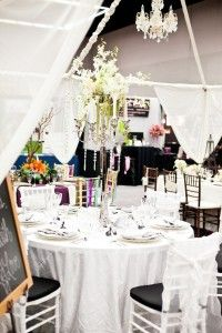 Sparkle Paris table designed by Sweet Dreams Weddings & Events.. photo by ANIKO Productions
