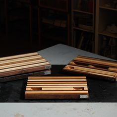 From our July Cutting Board Class - check out those cool wells...