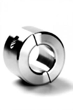 """Ballstretcher Edelstahl - 40 mm hoch - teilbar - Ø 34, 37, 40, 45 mm - von """"tom:k"""" Größe Innendurchmesser 34 mm"""