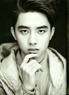 Picture of D.O black and white