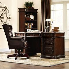 Versailles Executive Desk - Furniture - Home Office - Computer Desk  