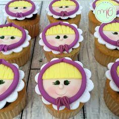 Cupcakes Masha y el Oso #marinaoteropasteleria https://www.facebook.com/marinaoteropasteleria