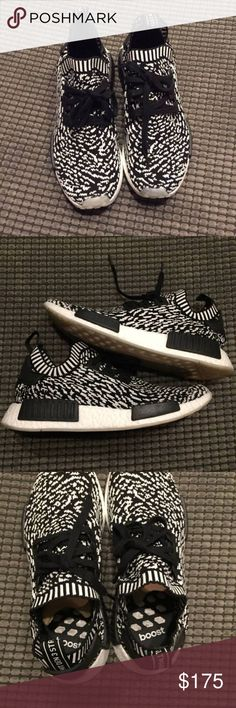 Adidas NMD Zebra 100% Authentic comes with original purchase receipt. Happy Holidays! Free OVERNIGHT shipping. adidas Shoes Sneakers