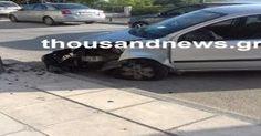 Μηχανιώνα: Τροχαίο ατύχημα με έναν τραυματία