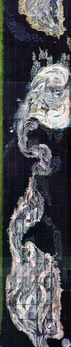 "Füreya Koral, "" Wall panel"" Manifaturacılar Çarşısı- İstanbul (Erdinç Bakla archive) Ceramic Artists, Art And Architecture, Cannes, Murals, Istanbul, City Photo, Concrete, Products, Prague"