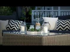 Super Amart is excited to partner with real living stylist Jackie Brown to bring you the latest looks for your home with the Smart Styling series. Outdoor Sofa, Outdoor Furniture Sets, Outdoor Decor, Real Living Magazine, Beautiful Hotels, Dream Bedroom, Coastal Living, Rattan, The Hamptons