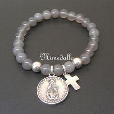 4.bp.blogspot.com -HuO9TCllJMA UBEUwq8QulI AAAAAAAAASY SZePCzPxrQI s1600 pulsera+piedras+medalla+y+cruz+plata.jpg
