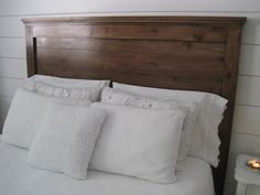 "{Beautiful Nest}: ""Reclaimed Wood"" Headboard"