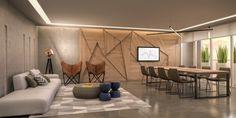 Interiores Art Home & Work Quartier - Porto 5 Pelotas/RS Projeto: Maena Design Conecta