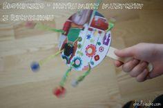 instrument muzyczny diy z recyklingu Musical Instruments, Diy For Kids, Christmas Ornaments, Holiday Decor, Children, Therapy, Music Instruments, Xmas Ornaments, Boys