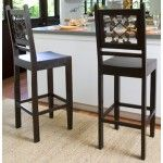 """$260.00 Classic Home Furniture - One - 24"""" Florence Counterstool In Dark (Sold in sets of 2) - 53001011"""