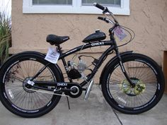 80cc Fun Built Out Of Scrap Parts Motorized Bicycle Pinterest