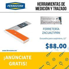 #Herramientas #Escuadra para #carpintero  http://www.ferrezone.mx  El mercado ferretero de México Anúnciate gratis