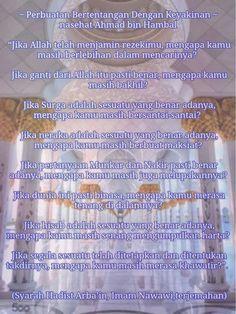 Kenapa harus ragu...semua di jamin Allah