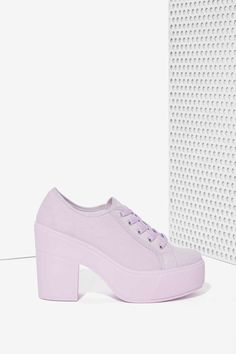 san francisco 4dfba 7ae64 Shellys London Funcluo Platform Sneaker - Lilac  Nasty Gal Cute Sneakers,  Cute Shoes,