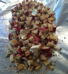 How to Make Southwest Potato Packets on Grill