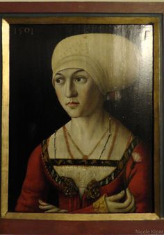 1501 portraits of Nuremberg Muenzmeister and wife