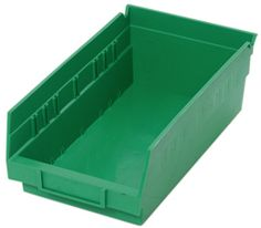 Find out more about our bin systems, store-more 6 inch shelf qsb series bins. Quantum Storage Systems offers a wide range of storage products. Shelf Bins, Plastic Shelves, The Unit, Storage, Green, Happy, Life, Products, Purse Storage