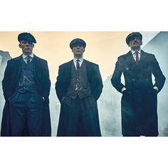 John, Thomas and Arthur Shelby | Peaky Blinders