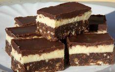 Tejszínes csokoládékocka – sütés nélkül! Szenzációs ez a krém! - MindenegybenBlog