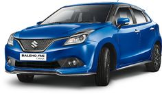 Sporty Baleno RS concept gets the new 1.0-litre Boosterjet engine and a mild body kit; to go on sale this festive season. Unveiled at Auto Expo 2016.