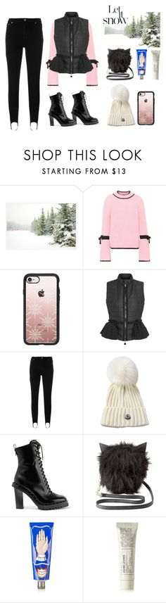 """""""°°winter outfit°°"""" by polychampion-805 ❤ liked on Polyvore featuring Pottery Barn, Moncler, Casetify, MSGM, Valentino, Charlotte Russe, Buly and Le Labo"""