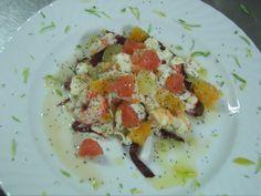 Insalata di aragosta con agrumi - La Bettola Mazara, Mazara del Vallo (Sicilia, Italia)