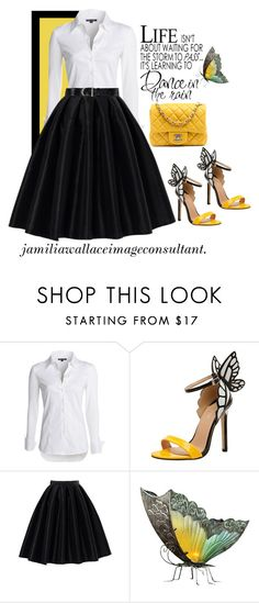 """""""Ideal Image"""" by jamilia-wallace ❤ liked on Polyvore featuring NIC+ZOE, Chicwish and Ralph Lauren"""